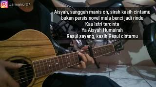 Aisyah Istri Rasulullah (Lirik) || Fingerstyle Gitar Cover