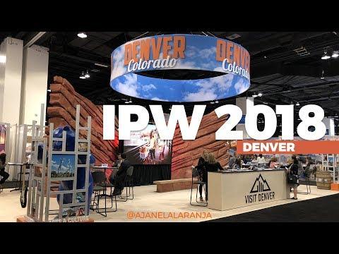 IPW 2018 em Denver, como foi a maior feira de turismo dos EUA