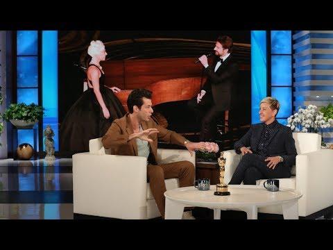Mark Ronson Visits Ellen as a New Oscar Winner