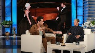 Mark Ronson Visits Ellen as a New Oscar Winner