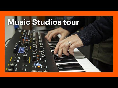 Goldsmiths Music Studios Tour