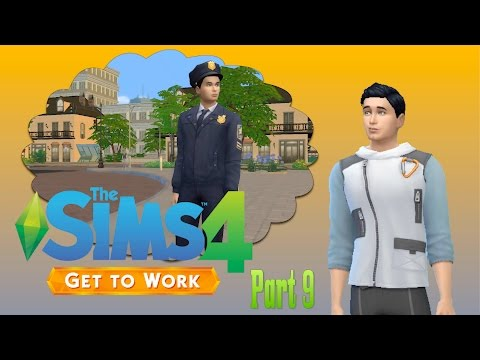 Sims 4: Get to Work Detective, Part 9 - Intimidation