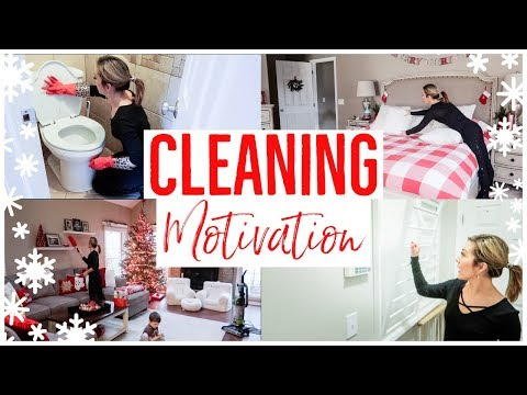 CLEAN WITH ME 2018 💪🏼✨ | ALL DAY CLEANING ROUTINE CHECK LIST ✅