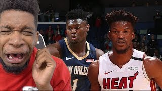ZION STEAK ENEDED!? Miami Heat vs New Orleans Pelicans Highlights