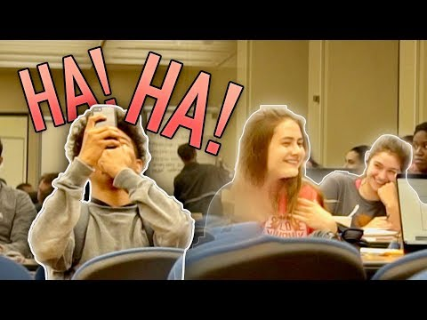 Strange Laughing in the Library