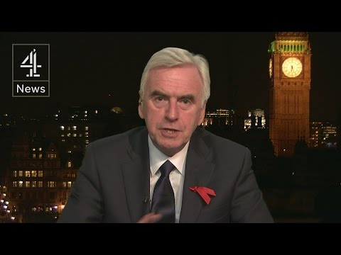 John McDonnell interview on the Autumn Statement