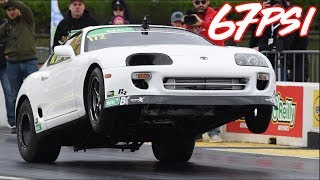 1900HP Supra Battles 2JZ Legends - The Most EPIC Supra Race Story Ever!