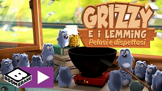 Grizzy e i Lemming | Popcorn | Boomerang
