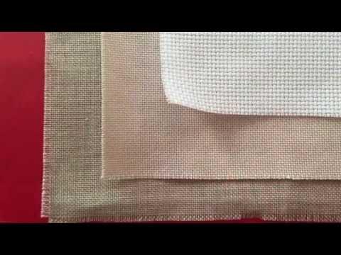 Cross Stitch #26 - Part 1.  Aida Vs Evenweave & Linen