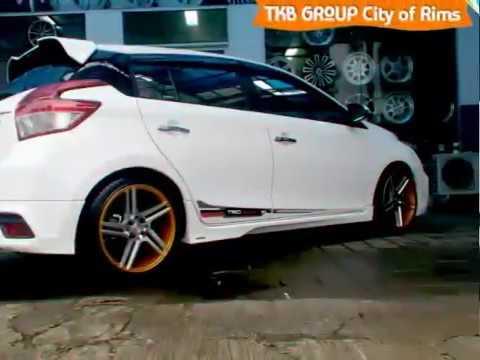 velg new yaris trd ukuran wiper depan grand avanza modifikasi toyota brc tkb group youtube