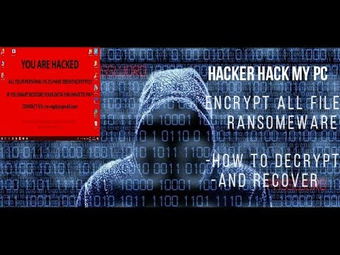My PC Hacked (encrypt All Files) | Decrypt And Recover | Ease Us Recovery Crack