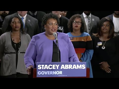 'Democracy failed Georgia': Stacey Abrams ends campaign for governor
