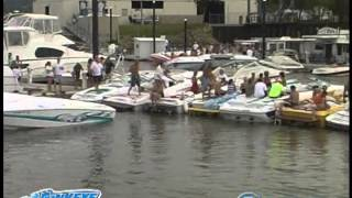 Hawkeye Boats Poker Run 2009, a lake tv project