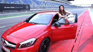 Mercedes-Benz TV: Torie puts the new generation A-Class to the test.