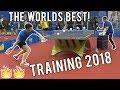 Ma Long & Fan Zhendong Training 2018 | Relentless