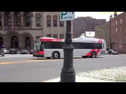 Buses in Albany, New York 2018