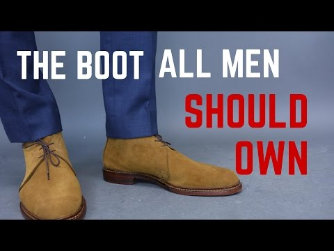 The All Season Boot Every Man Should Have