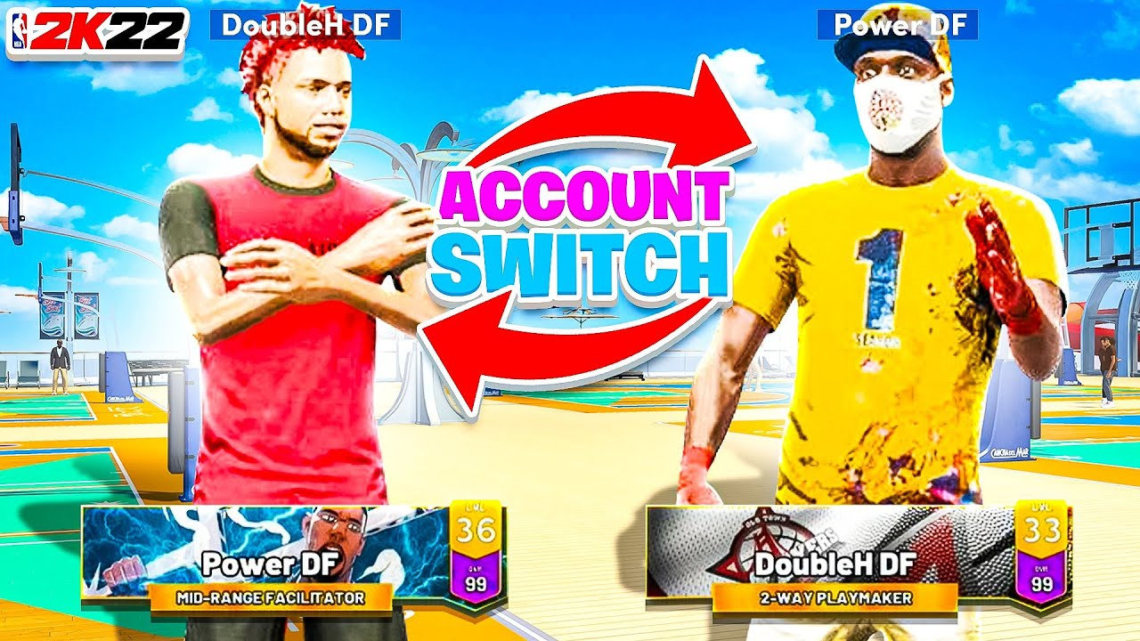 I SWITCHED BUILDS w/ DOUBLEH DF in NBA 2K22 • BEST GUARD BUILD & BEST BIGMAN BUILD SWITCH PLACES