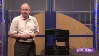 Lowell Vari-Rack Assembly Custom Fit Rack Overview | Full Compass