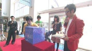 2012年3月10日にららぽーと・豊洲で行われた「ウレロ☆未確認少女」DVD-B...