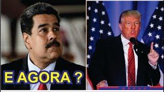 Donald Trump tomará ação contra a VENEZUELA DE MADURO ! AGORA É PRA VALER SE PREPAREM !