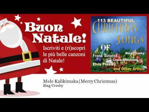 Bing Cros  Mele Kalikimaka Merry Christmas