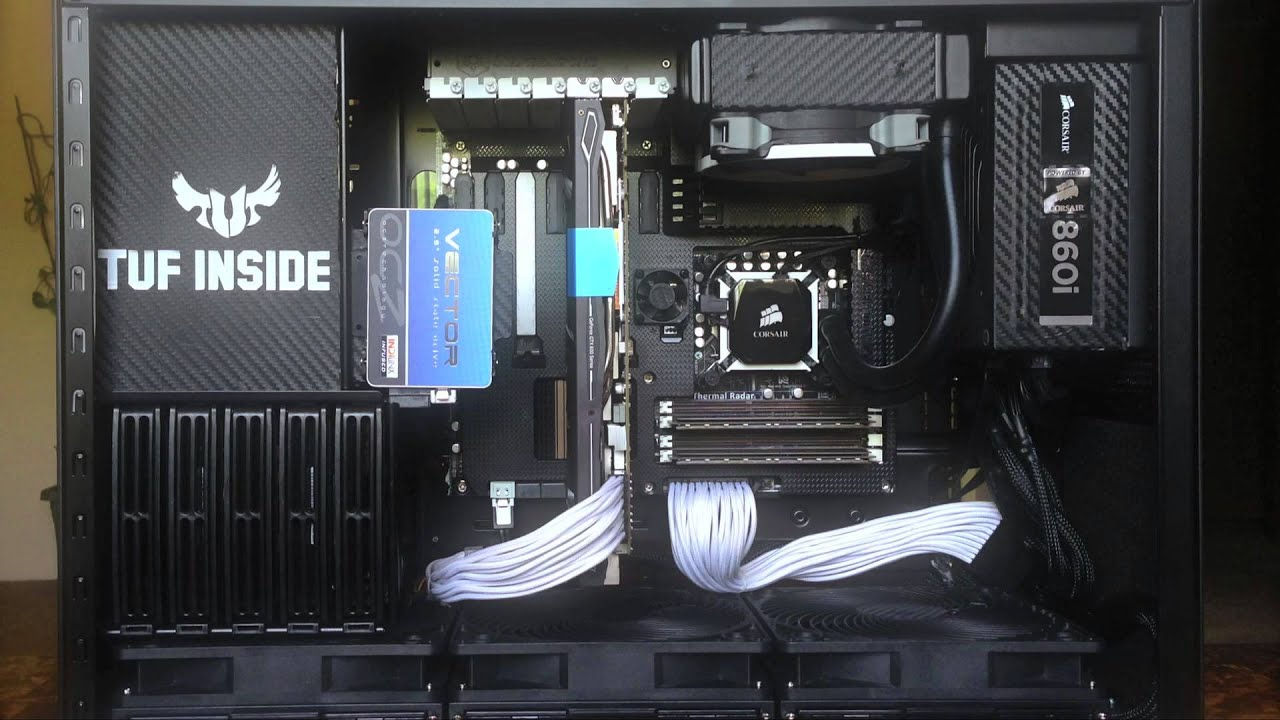 Motherboard Wallpaper 3d Gaming Pc 2013 Build The Ultimate Force Youtube