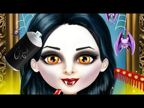 Sweet Baby Girl Halloween Makeover Fun Play Spooky Outfits Makeup Halloween Games