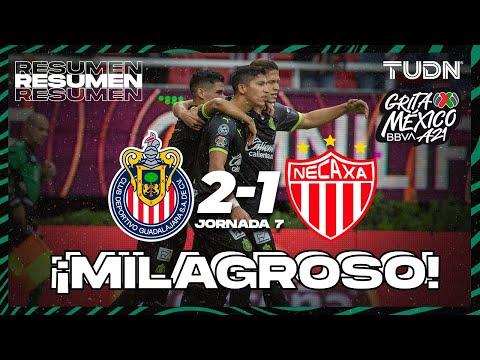 Resumen y goles | Chivas 2-1 Necaxa | Grita México BBVA AP2021 - J7 | TUDN