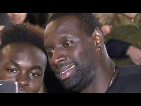 EXCLUSIVE : Omar Sy attending the YAO premiere in Paris