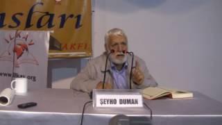 Şeyho Duman - Kalu Bela Nedir  Fıtrat Sözleşmesi