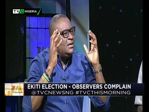 This Morning 18th July 2018 | Ekiti Election-Observers Complain