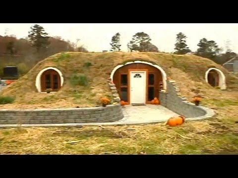 Real-life 'hobbit house' in Athens, Tenn.
