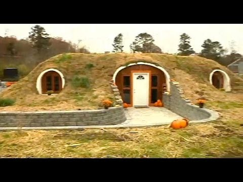 Real-life 'hobbit house' in Athens, Tenn.