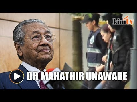 Dr Mahathir in the dark over Indonesia's lobby to release Siti Aisyah