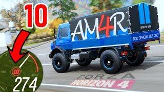 CAMION di Affari a 4 Ruote: 2400 CAVALLI - Forza Horizon 4