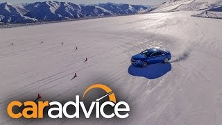 how does all wheel drive work all wheel drive demonstration on snow
