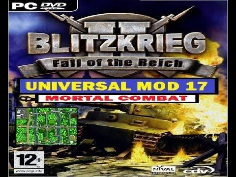 Blitzkrieg 2 - Universal MoD 17 - Let's Play #5 Multiplayer 1 Vs.1 - Mortal Combat -