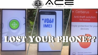 find Lost Phone  Android Device Manager  IMEI Tracking