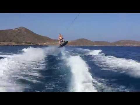 Wakeboarding in Greece
