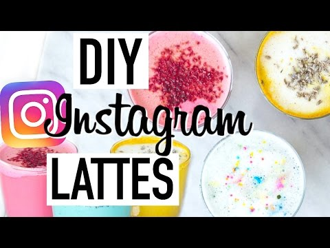 SUPERFOOD LATTES! DIY Healthy Instagram Food! Cooking With Liv Ep.16
