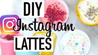 Diy instagram superfood lattes! these lattes are full of superfoods and healthy recipes! i've seen so many on thought i should make a he...