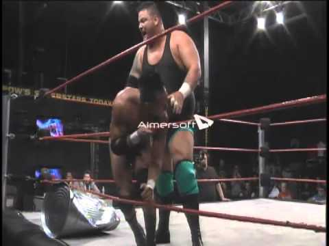 LOSER LEAVES OVW: JAMIN OLIVENCIA vs JAMES MOOSE THOMAS w/ Timmy Danger