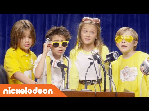 Nicky, Ricky, Dicky & Dawn | Lemonade Stand Music Video | Nick