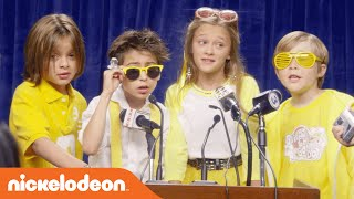 Nicky, Ricky, Dicky & Dawn | Lemonade Stand Music Video | Nick