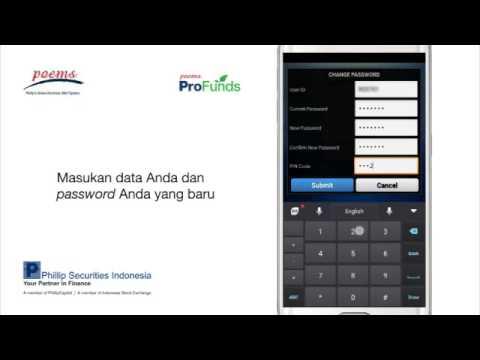Cara Mengubah Password di POEMS ID Mobile Android