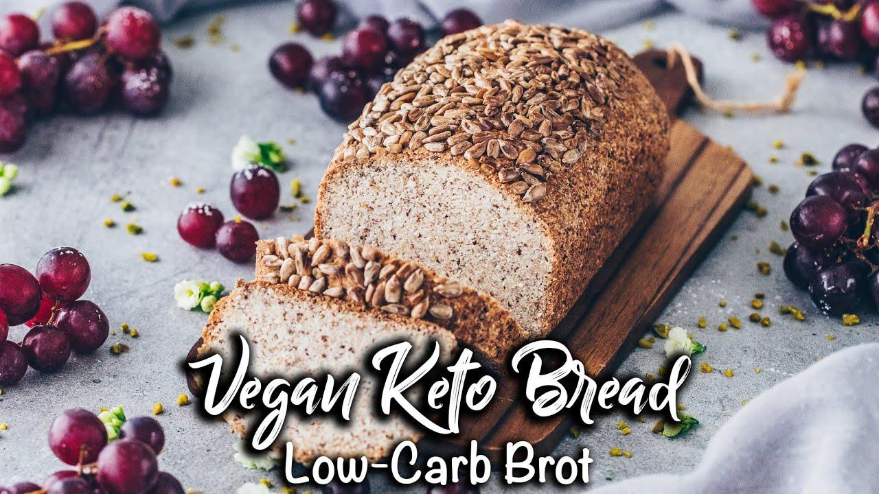 Veganes Low Carb Keto Brot *Schnell und einfach* Life Changing Bread Rezept!