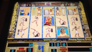 $1 pharoahs fortune high limit slot machine jackpot handpay big win borgata