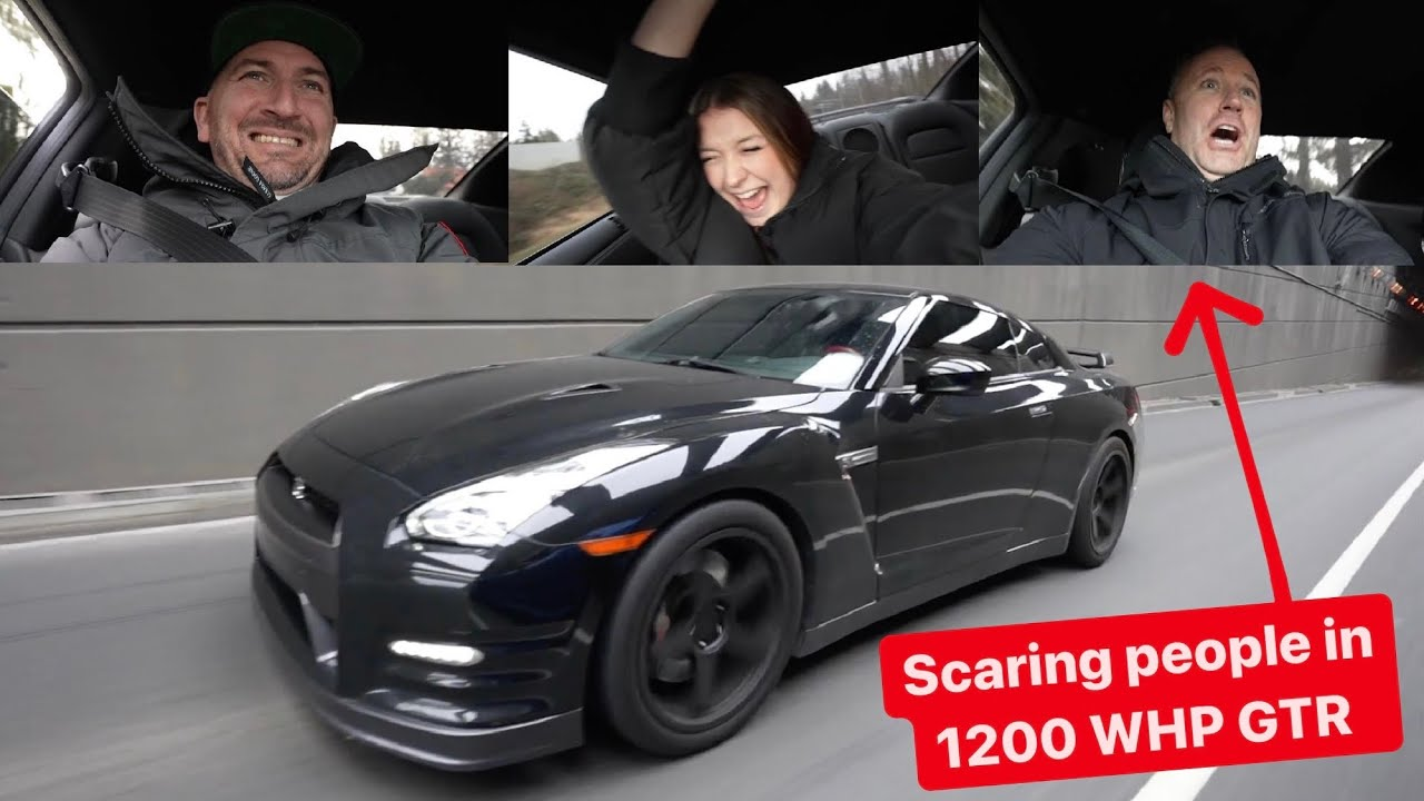 Download LAUNCH REACTIONS IN 1200 WHP ALPHA12 GTR!