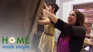 Blank Slate To Work Of Art | Home Made Simple | Oprah Winfrey Network